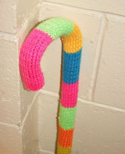 knitted cane