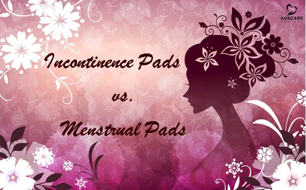 Incontinence pads vs Menstrual pads