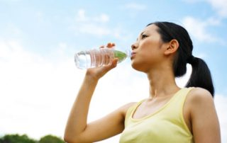 drinking water - types of incontinence