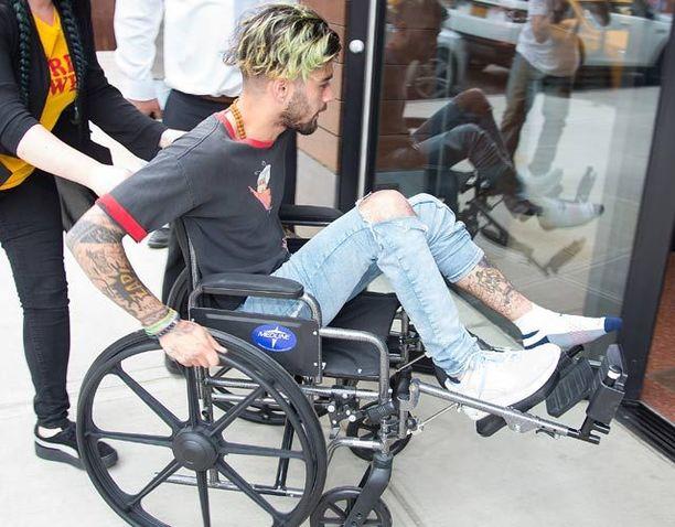 Zayn Malik in K1 Wheelchair
