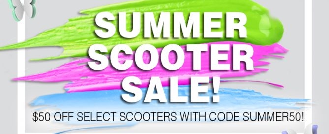 summer scooter sale avacare medical