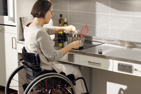 Making your home wheelchair accessible avacare medical blog for Handicap accessible homes