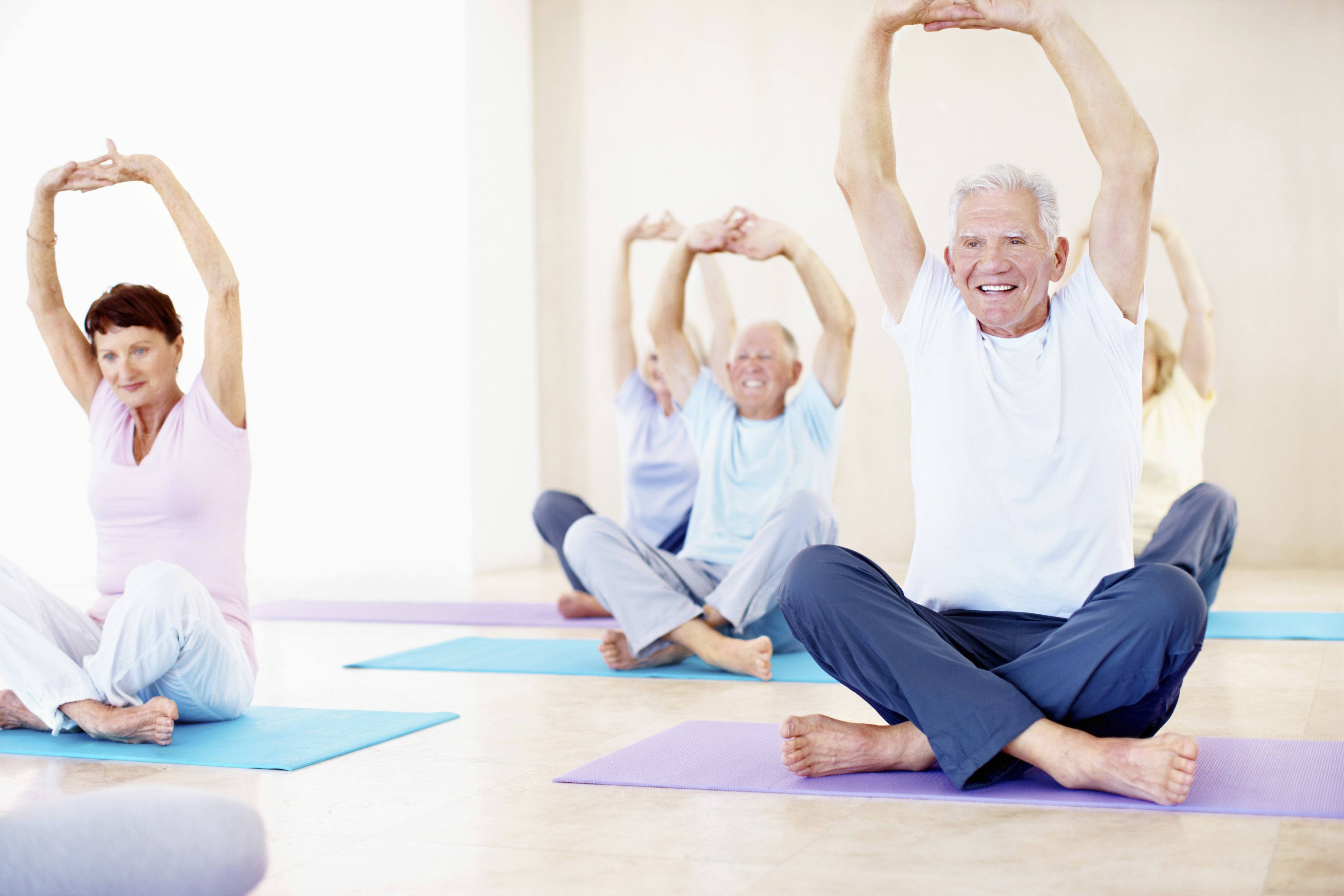 7 Things You Should Know About Yoga For Baby Boomers Avacare Medical Blog