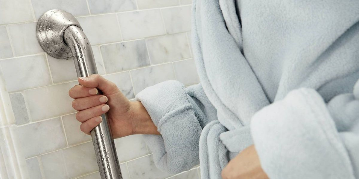 Installing Grab Bars for Shower Safety