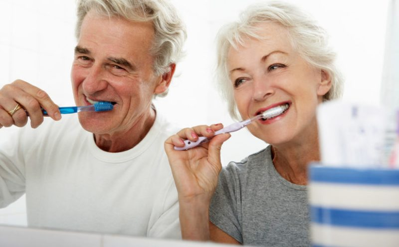 seniors caring for dentures senior dental products