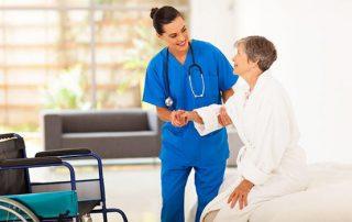 caregivers avoid back pain