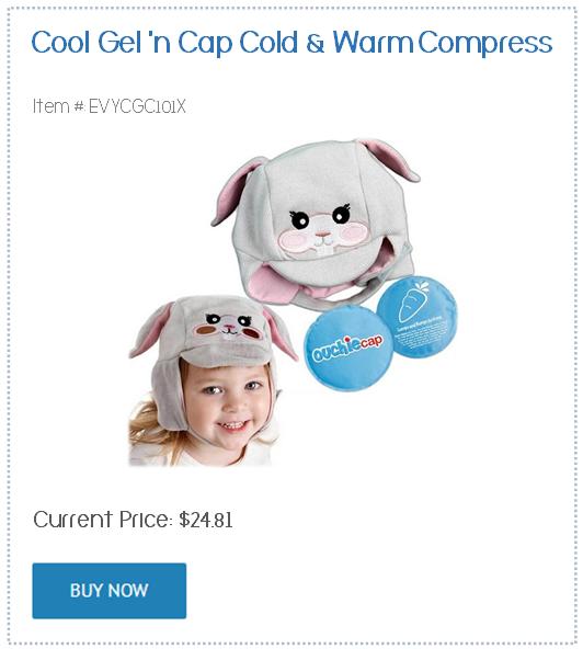 cool cap compress ouchie cap