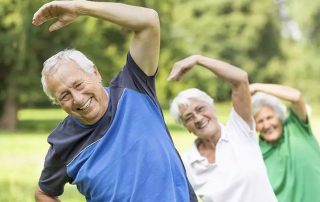 seniors staying healthy exercise