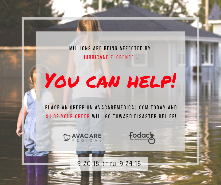 AvaCare Medical Supports Hurricane Florence Relief Efforts