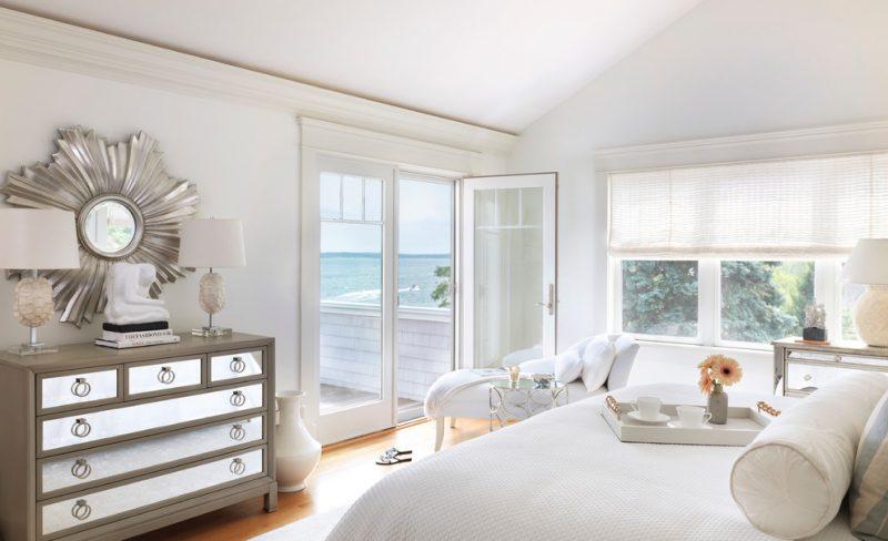 clean safe bedroom