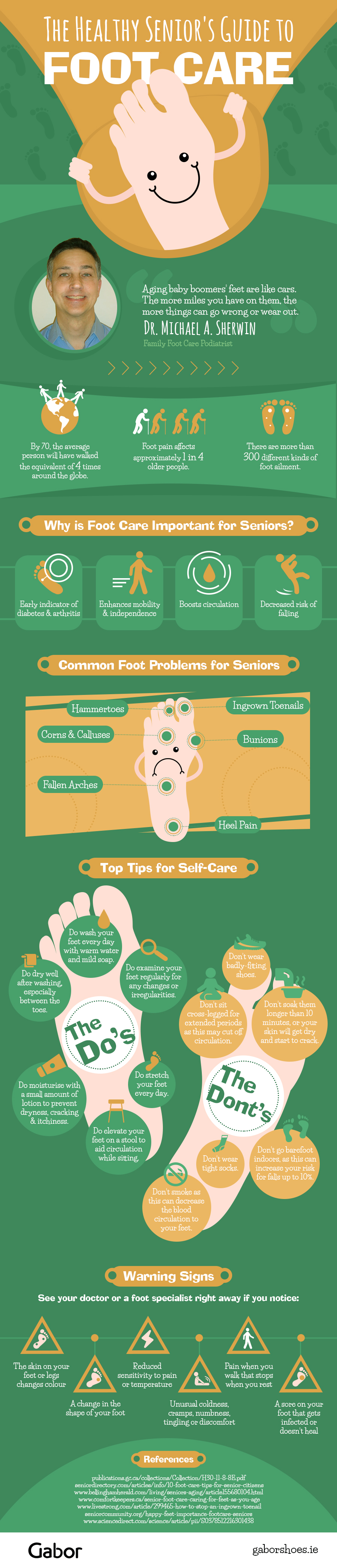 The Healthy Senior's Guide to Foot Care
