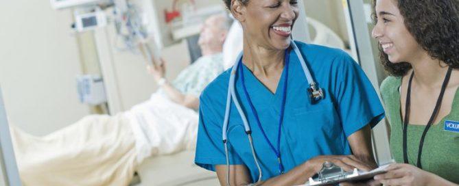 becoming a healthcare volunteer