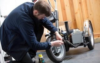 mobility scooter maintenance