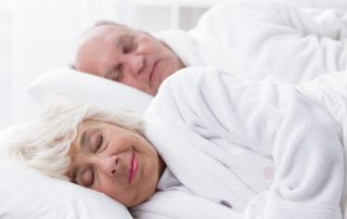 seniors in bedroom
