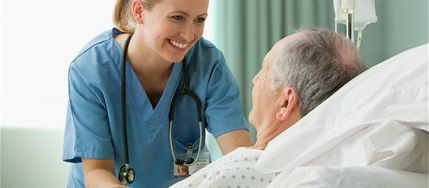 nurse with senior