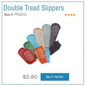 double tread slippers