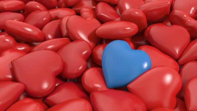 hearts full of love