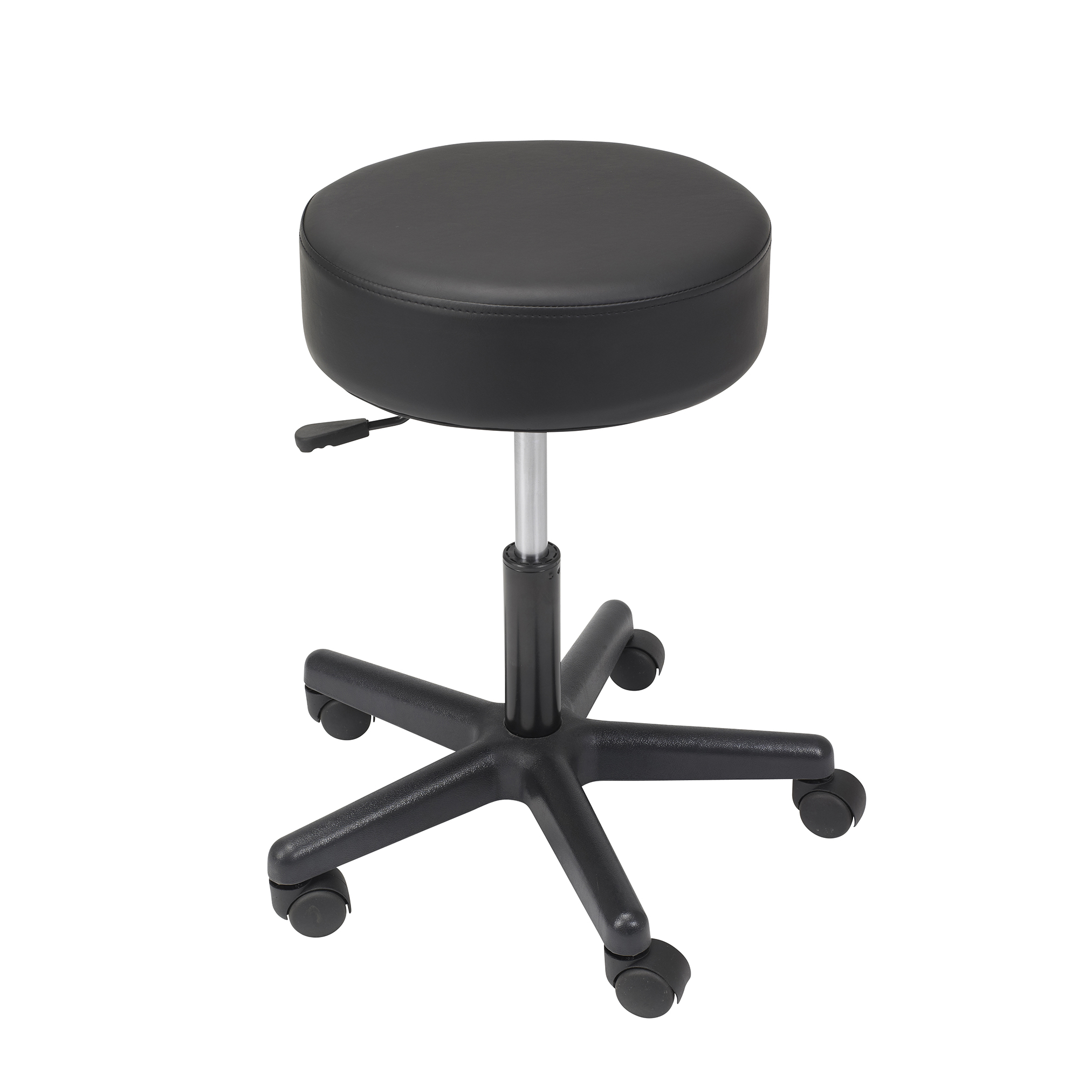 Charmant Padded Revolving Stool, Height Adjustable