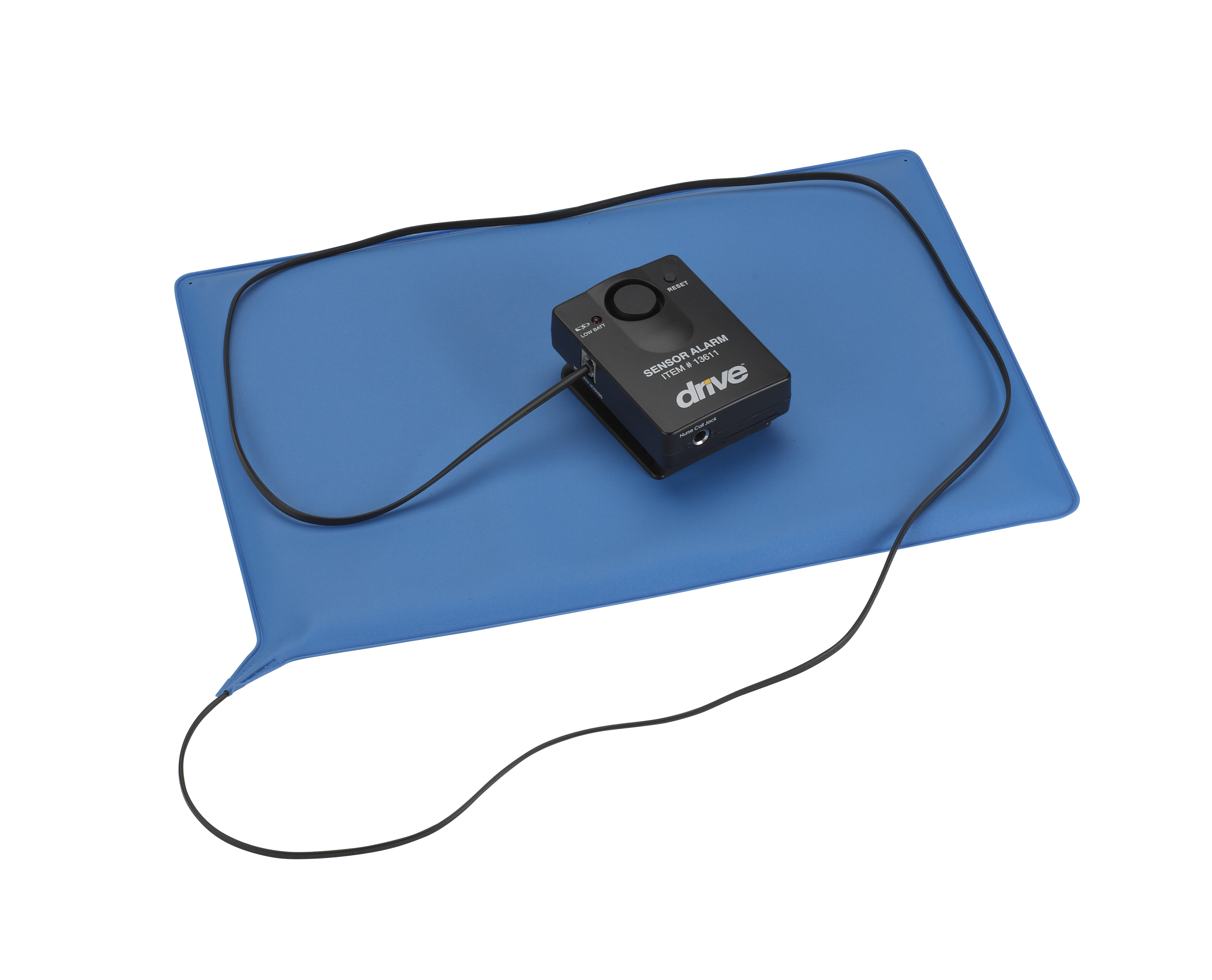 Pressure Sensitive Bed Chair Patient Alarm with Reset Button, 10