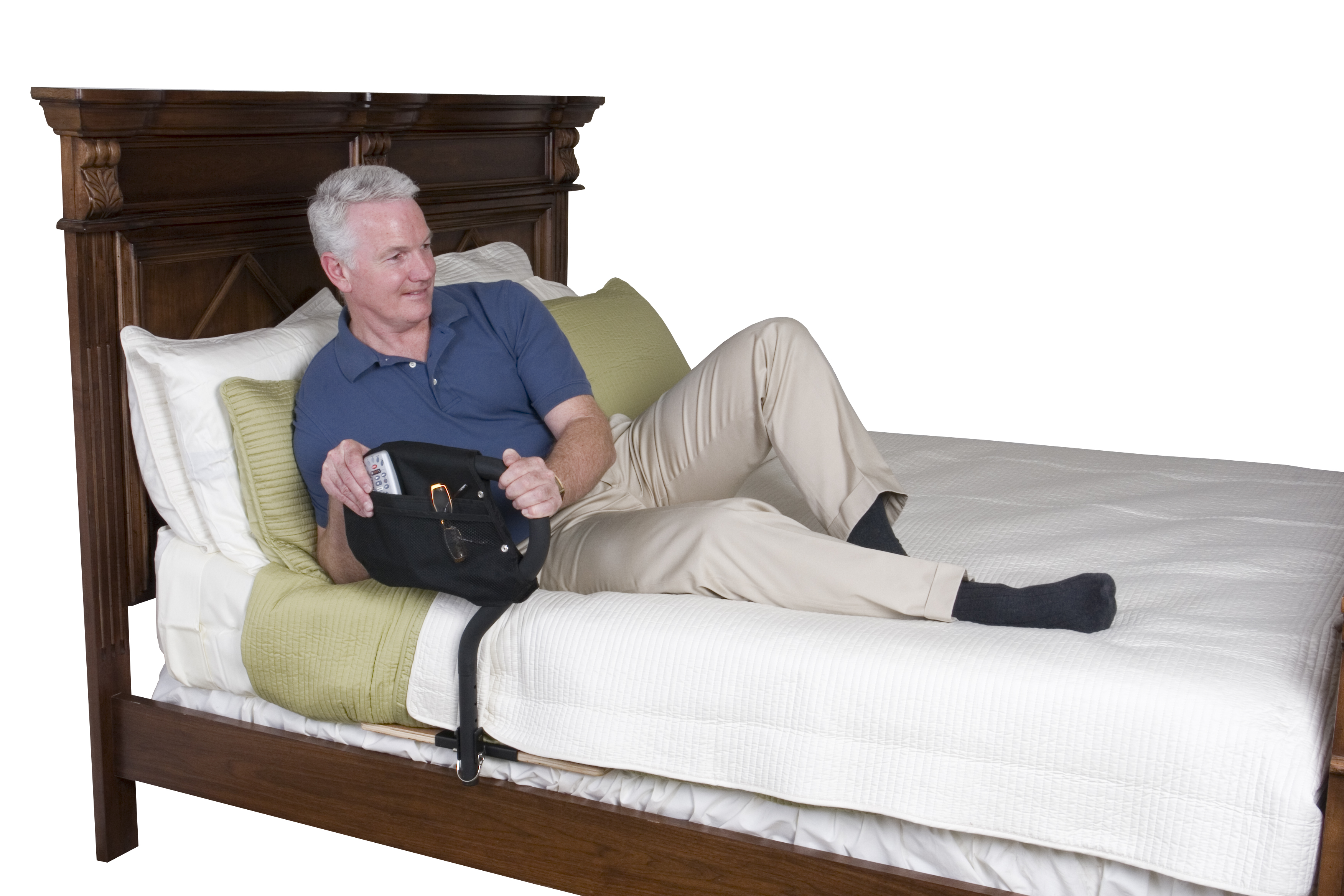 and rail safety adult rassist pin medical bed elderly seniors drive rails for handle care elde handles adjustable