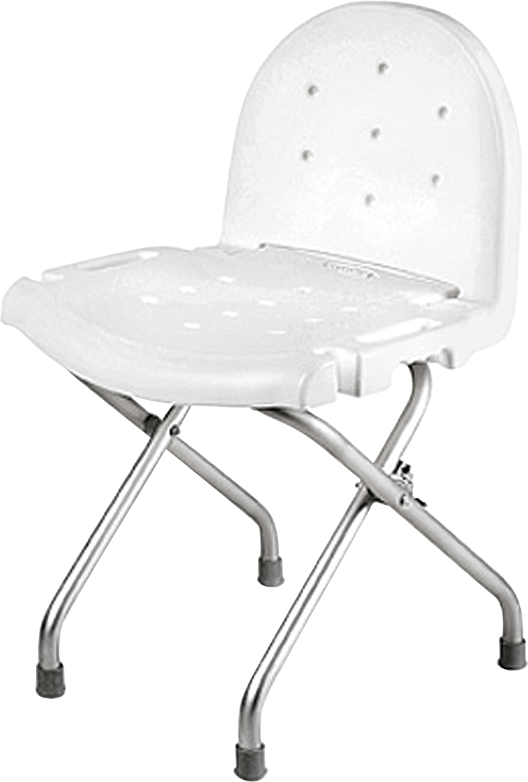 Invacare Folding Shower Chair w/ Back | AvaCare Medical