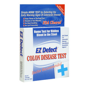 Ez Detect Home Test For Early Warning Signs Of Colorectal
