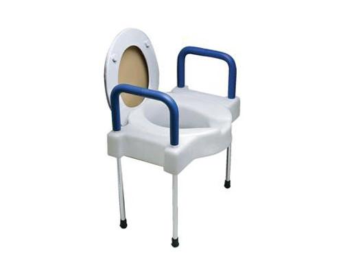 Tall Ette Aluminum Elevated Toilet Seat Avacare Medical