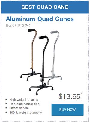 Best Quad Cane: Aluminum Quad Canes