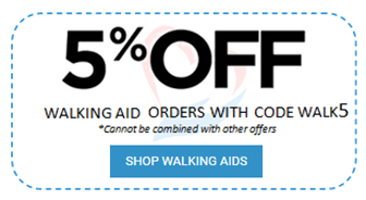 5% off adult walkers